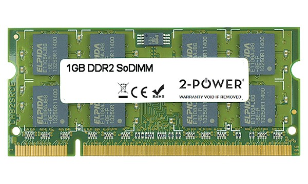 Satellite P200-1J9 1GB DDR2 667MHz SoDIMM