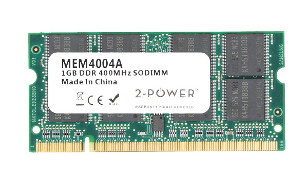 Aspire 5102WLMi-2GB-FR 1GB PC3200 400MHz SODIMM