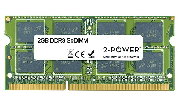 Satellite C850D-011 2GB MultiSpeed 1066/1333/1600 MHz SoDIMM