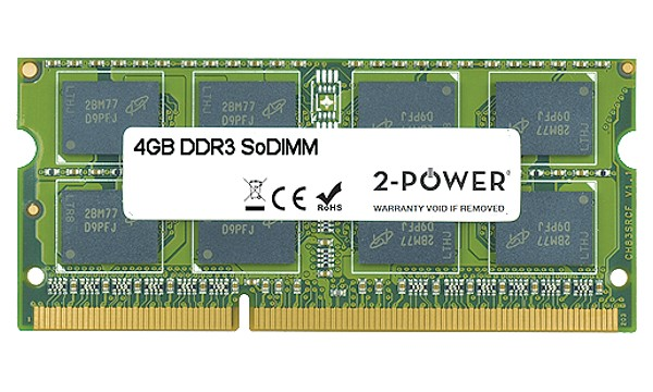 Satellite L650-13C 4GB DDR3 1333MHz SoDIMM